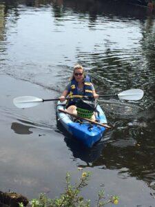 Incoming Kayak